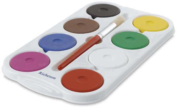 Tray with 8 Colors