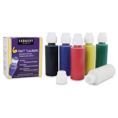Paint Daubers, Set of 6 Primary Colors