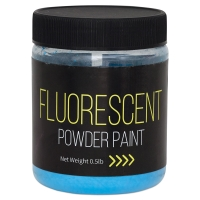Fluorescent Blue, 1/2 lb jar