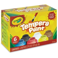 Tempera Paint, Set of 6