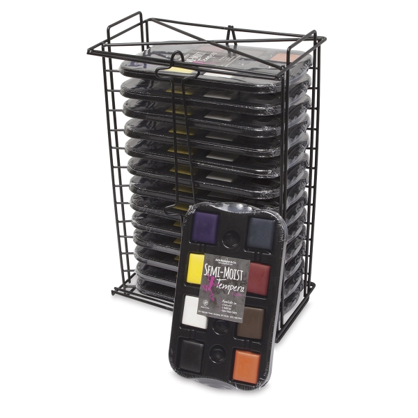 Tempera Rack with 12 Sets
