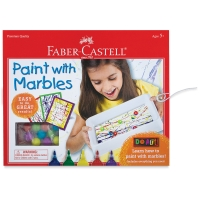 Paint With Marbles Kit