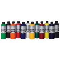 Chroma 2 Washable Tempera Paint, Set of 12, 16 oz Bottles