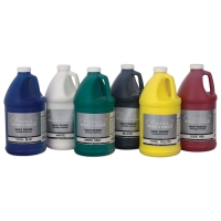 Chroma 2 Washable Tempera Paint, Cool Colors, Set of 6