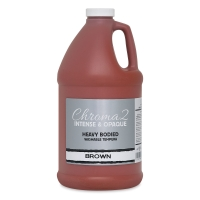 Chroma 2 Washable Tempera Paint, Brown, 64 oz