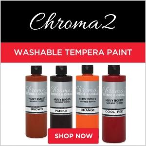 Chroma 2 Washable Tempera Paint