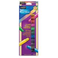Tempera Paint Sticks, Set of 12
