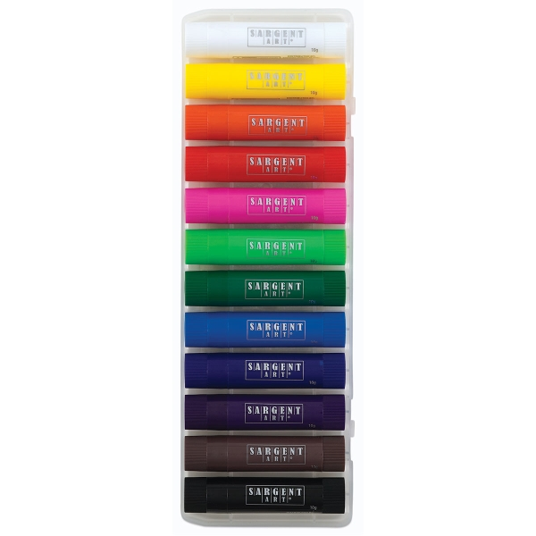 Tempera Paint Sticks, Set of 12