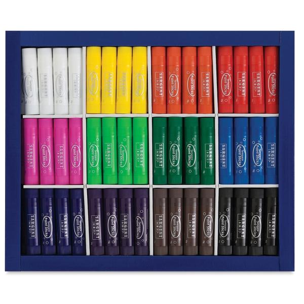 Tempera Paint Sticks, Class Pack of 144
