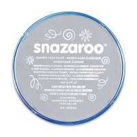 Snazaroo Face Paint, Light Gray