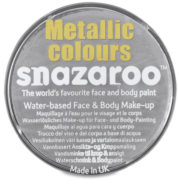 Snazaroo Face Paint, Silver