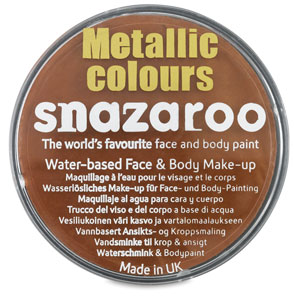 Snazaroo Face Paint, Copper