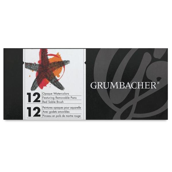 grumbacher watercolor pan sets blick art materials