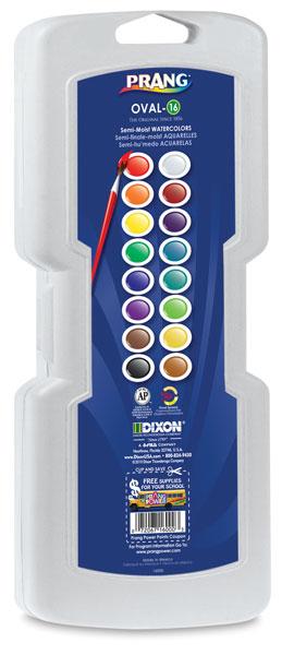 16-Color Set, Oval