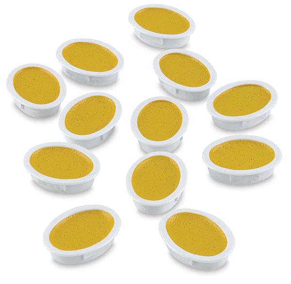 Oval Half-Pan Refills, Pkg of 12