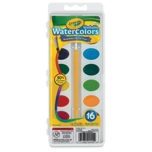 16-Color Oval Set
