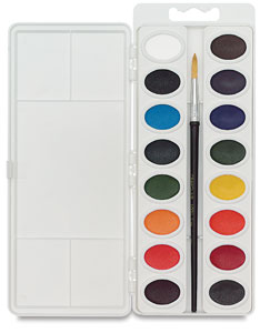 Oval Pans, Set of 16 Colors