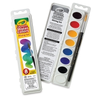 Oval Pans, Set of 8 Mixing Colors