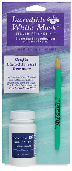 Incredible White Mask Frisket Kit, 2 oz