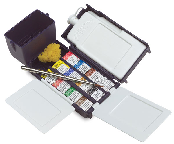 Resultado de imagen de winsor and newton watercolor travel set