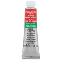 Winsor & Newton Cadmium-Free Red Watercolor, 5 ml Tube
