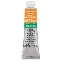 Winsor & Newton Cadmium-Free Orange Watercolor, 5 ml Tube