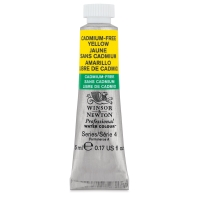 Winsor & Newton Cadmium-Free Yellow Watercolor, 5 ml Tube
