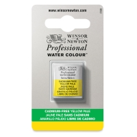 Professional Watercolor Half Pan, Cadmium-Free Yellow Pale