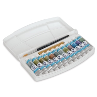 Van Gogh Watercolor, Specialty Metallic & Interference Colors Set of 12 Tubes