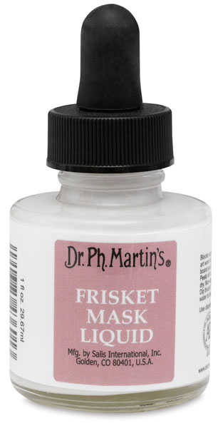 Dr. Ph. Martin's Frisket Mask Liquid, 1 oz Bottle