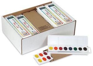 Premium Watercolors, Class Pack of 24 Sets