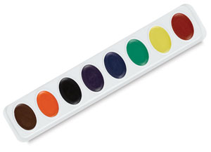 Refill, Set of 8 Primary Colors