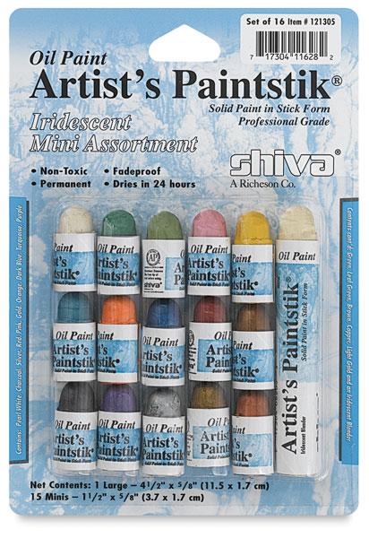 Iridescent Set of 15 Mini Colors