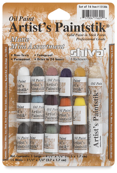 Assorted Set of 15 Mini Colors