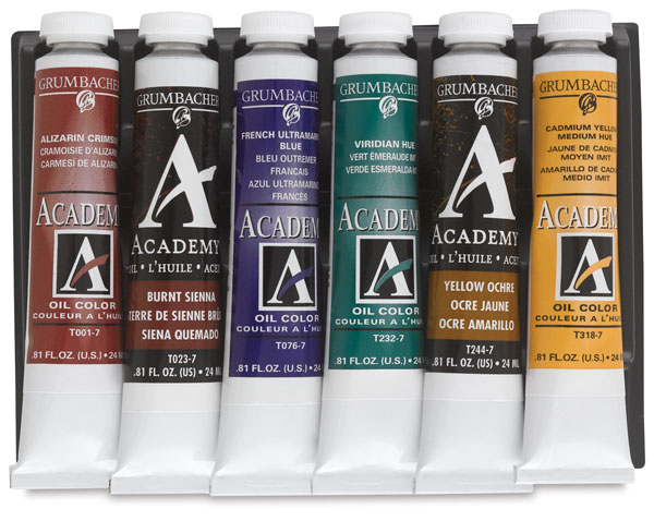 Grumbacher Academy Oil Color Sets Blick Art Materials