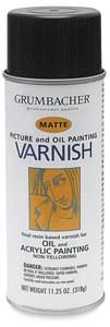 Picture Varnish, Matte