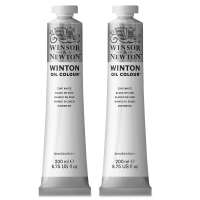 Winsor & Newton Winton Titanium White Twin Pack of 200 ml tubes