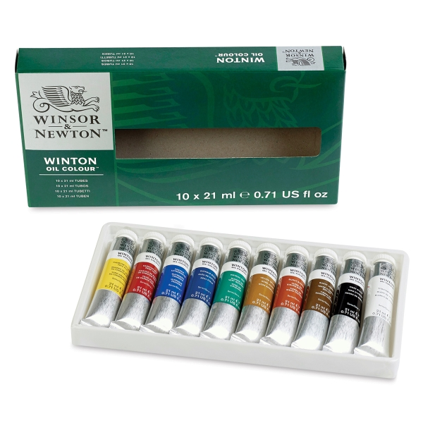 Winton Oil Color Set
