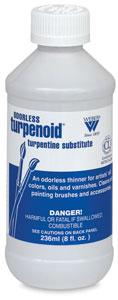 Turpenoid, 8 oz Plastic Bottle