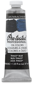 Thalo Blue, 1.25 oz Tube