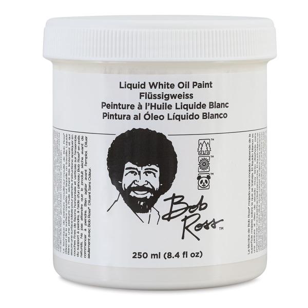 Bob Ross Oil Painting Liquid Mediums, White
