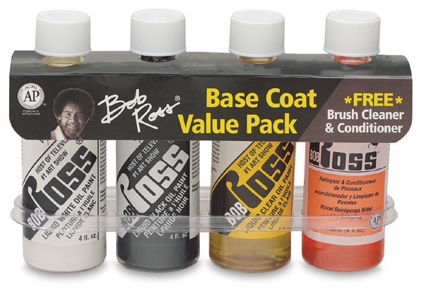 Bob Ross Oil Painting Mediums To Go, Set of 4