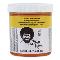 Bob Ross Oil Painting Liquid Mediums, Clear