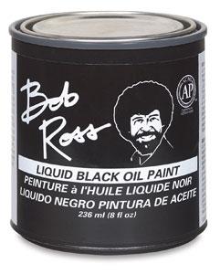 Bob Ross Oil Painting Liquid Mediums, Black