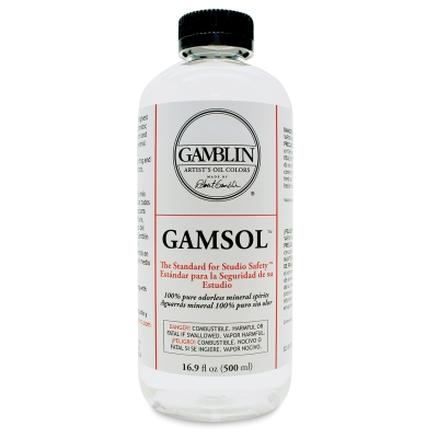 Gamblin Gamsol Odorless Mineral Spirits - BLICK art materials