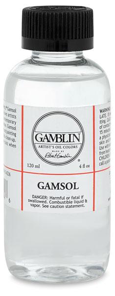 Gamsol Odorless Mineral Spirits, 4.2 oz