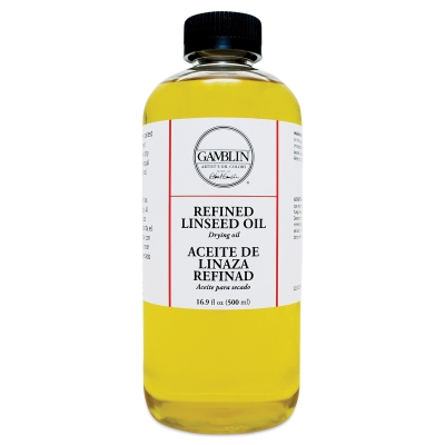Refined Linseed Oil, 16.9 oz