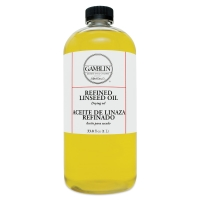 Refined Linseed Oil, 33.8 oz