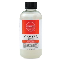 Gamvar Satin Varnish, 8.5 oz