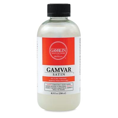 Gamvar Satin Varnish, 8.5 oz